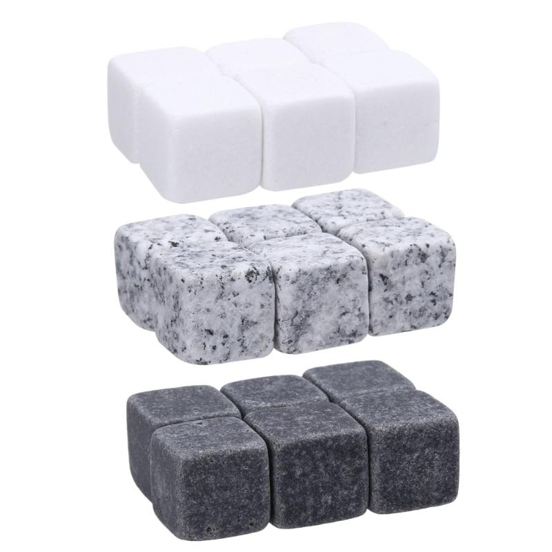 Acropolis Whiskey Stones - 6pcs