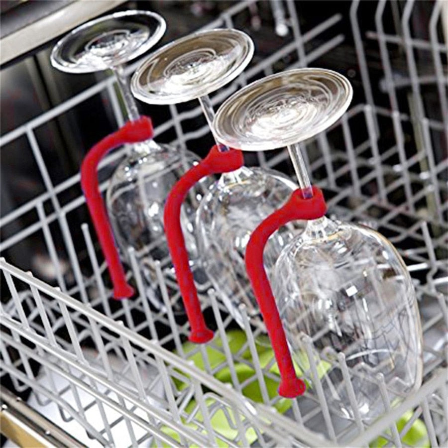 Dishwasher Wine Glass Holder 4 Pack