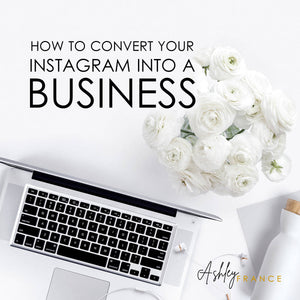 How To Turn Your Instagram Into A Business