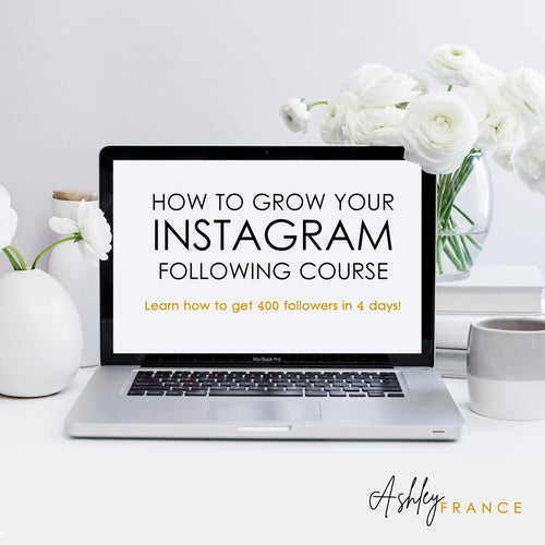 How To Master Instagram & Grow Your Following Course