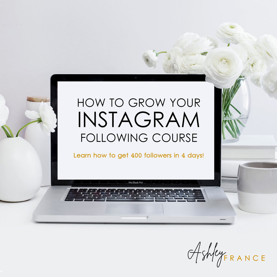 Instagram Master Course