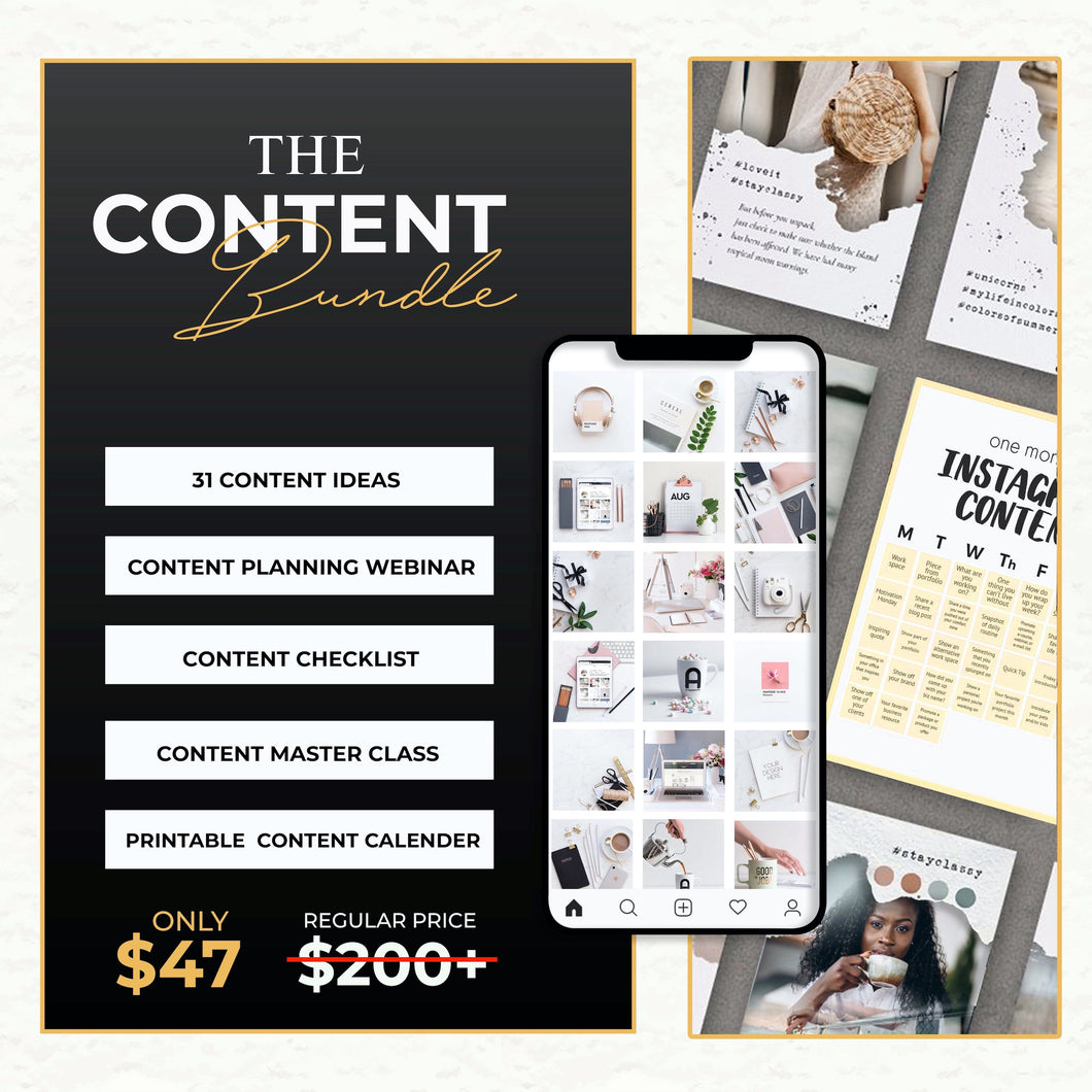 The Content Bundle