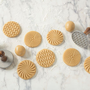 Cookie Stamp Geometric Set of 3
