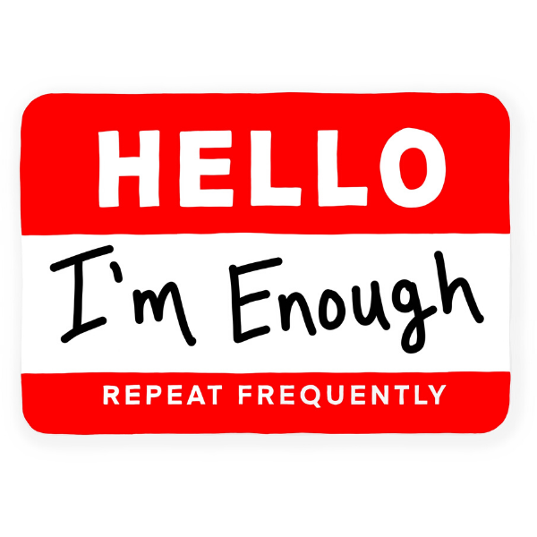 Imenough Vinyl Sticker