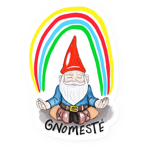 Gnomeste Vinyl Sticker