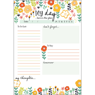 Daily Planner Pad