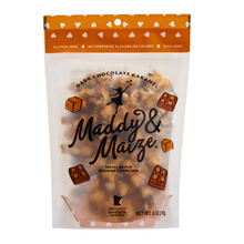 Load image into Gallery viewer, Dark Chocolate Caramel Popcorn 6 oz.