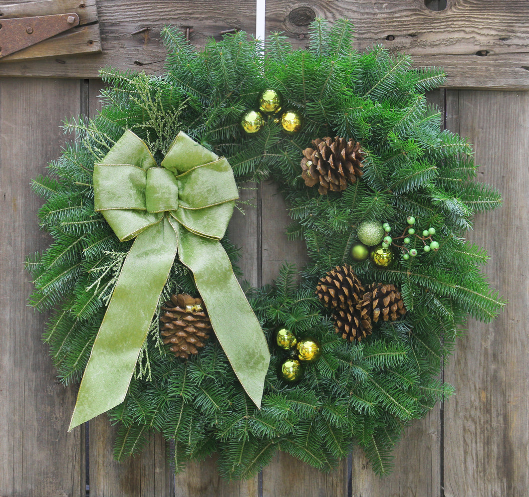 Wintergreen Wreath