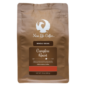 Campfire Roast Whole Bean 10 oz. Bag