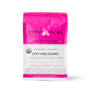 Organic City Girl Blend Whole Bean