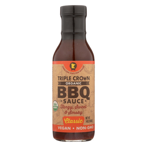 Triple Crown, Organic BBQ Sauce Classic 14 oz.