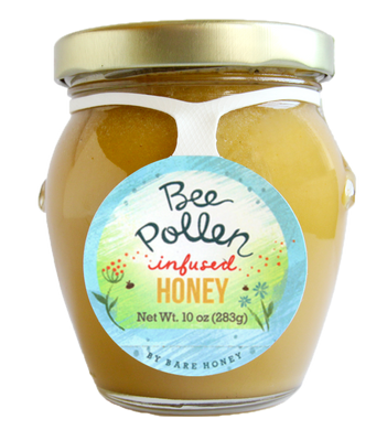 Bee Pollen Infused Honey