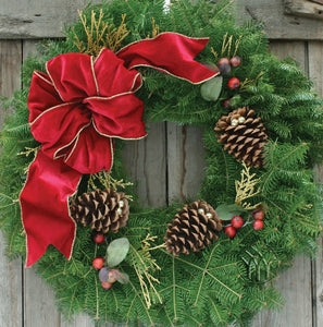 Cranberry Splash Wreath - PRE ORDER