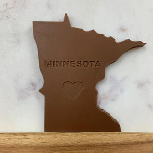 Minnesota Shaped Milk Chocolate