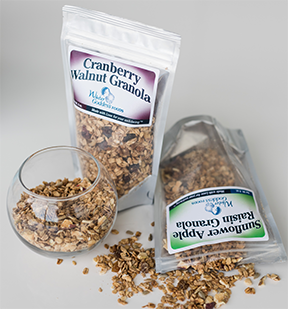 Cranberry Walnut Granola