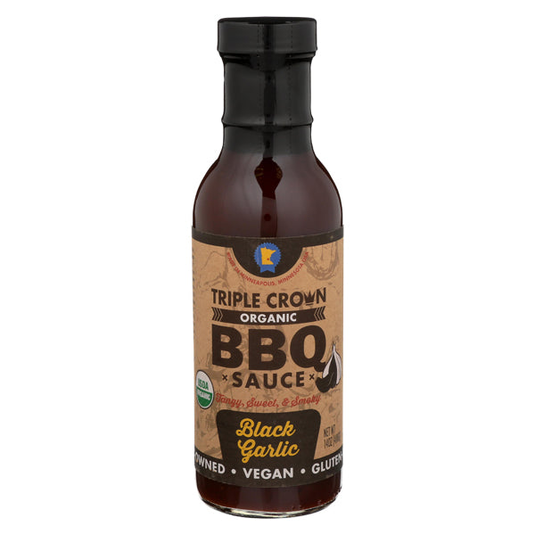 Black Garlic BBQ Sauce