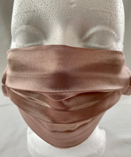 Load image into Gallery viewer, 2021 Face Mask Blush Pink Satin - Wow Design Studio