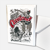 "Cleveland ""CLE"" Note Cards"