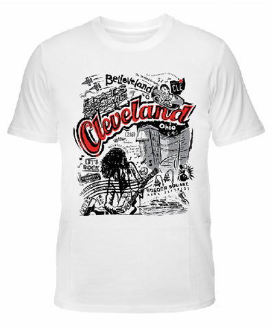 "Cleveland ""Believeland"" in 2-Color T-shirt"