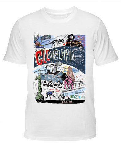 "Cleveland ""CLE"" T-shirt"