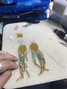 All Hands Workshops Intro to Beaded Earrings
