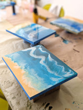 Load image into Gallery viewer, Anastasiya Bachmanova Workshop Resin Ocean Waves