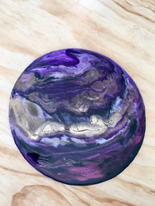 Anastasiya Bachmanova Workshop Resin Planets