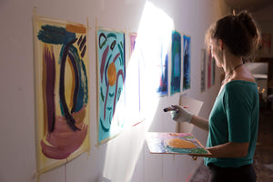 Anna Sofia Amezcua Workshop Embodied Abstract Painting