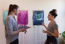 Load image into Gallery viewer, Anna Sofia Amezcua Workshop Embodied Abstract Painting