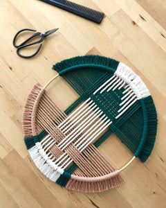 Beatriz Fraia Workshop Geo Macrame Wall Hanging