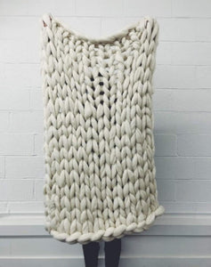 Cara Corey Workshop Giant Knit Blanket
