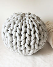Load image into Gallery viewer, Cara Corey Workshop Giant Knit Pouf