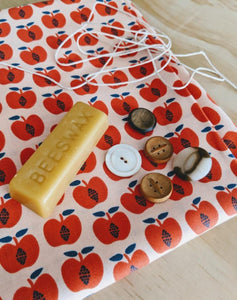 Cori Ana Strell Workshop Beeswax Food Wraps