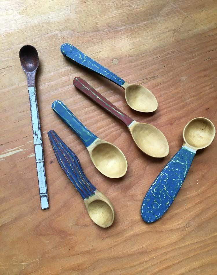 Inka Petersen Workshop Finishing and decorating your wooden spoon