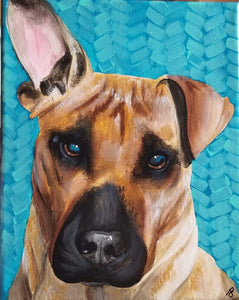 Jessica Pidcock Workshop Pet Portraits on Wood