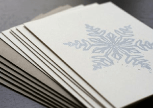 Joan Bogart Workshop Block Printed Holiday Cards