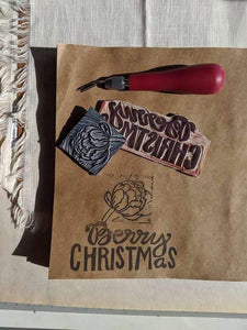 Joan Bogart Workshop Block Printed Holiday Gifts