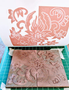Joan Bogart Workshop Block Printing Level 2