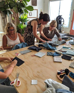 Julie Gires Workshop Sashiko Mending