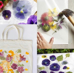 Kaitlin Bonifacio Workshop Hammered Flower Tote
