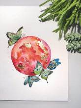 Load image into Gallery viewer, Kate Shriner Workshop Watercolor Moons
