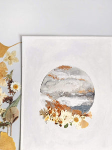 Kate Shriner Workshop Watercolor Moons
