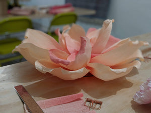 Kendra Dosenbach Workshop Giant Paper Flowers