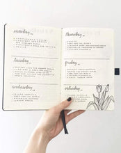 Load image into Gallery viewer, Kendra Dosenbach Workshop Intro to Bullet Journaling