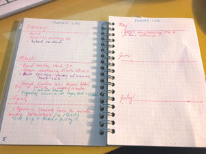 Kendra Dosenbach Workshop Intro to Bullet Journaling