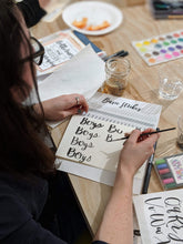 Load image into Gallery viewer, Kendra Dosenbach Workshop Modern Brush Lettering
