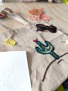 Kendra Dosenbach Workshop Punch Needle Embroidery