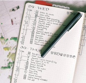 Kendra Dosenbach Workshop [Virtual] Intro to Bullet Journaling
