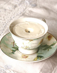 Lauren Reppy Workshop Teacup Candle Making