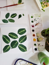 Load image into Gallery viewer, Logan Parsons Workshop Gouache Botanical Patterns
